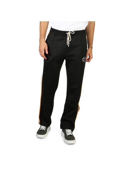 Black Elastic Waist Sweatpants