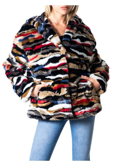 Hood Fur Multi Jacket Blazer