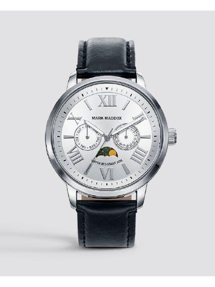 Silver Dial Quartz Watch