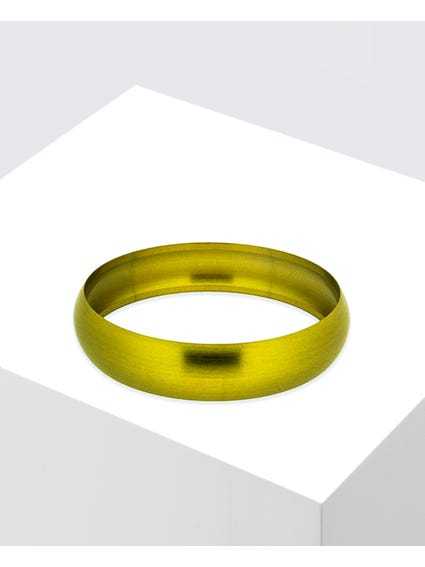 Yellow Secretly Thin Bangle