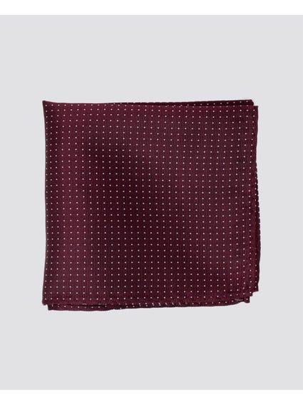 Purple Dots Pattern Handkerchief