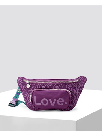 Purple Stardust Belt Bag