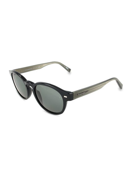 Black Leo Shaded Sunglasses
