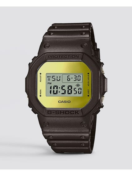 Black Quartz Digital Display Watch