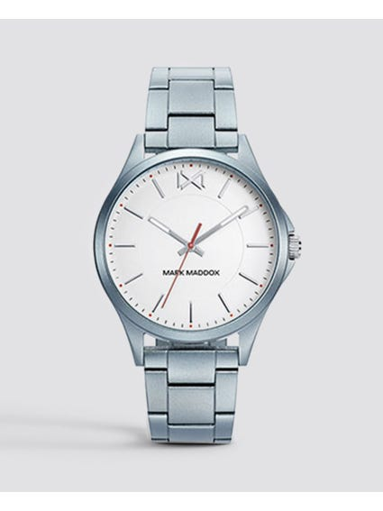 Light Blue Shibuya Stainless Steel Watch