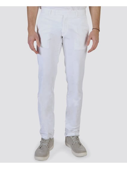White Plain Chino Trouser