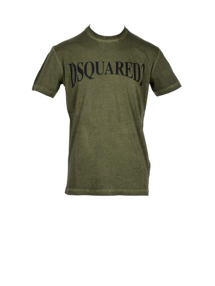 Round Neck Wash T-shirt