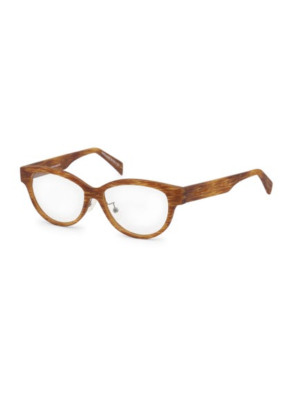 Brown Butterfly Eyeglass
