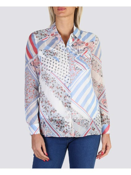 Pattern Printed Shirt