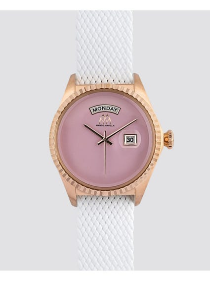 Rose Gold Plated Analog Watch