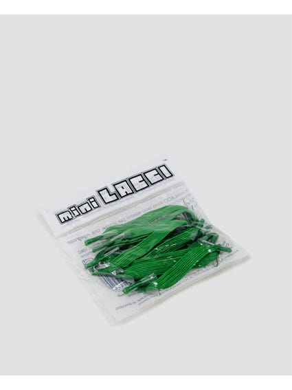 Green Quick Shoe Lace