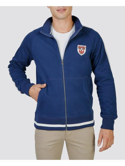 Navy Queens Full zip Sweatshirt