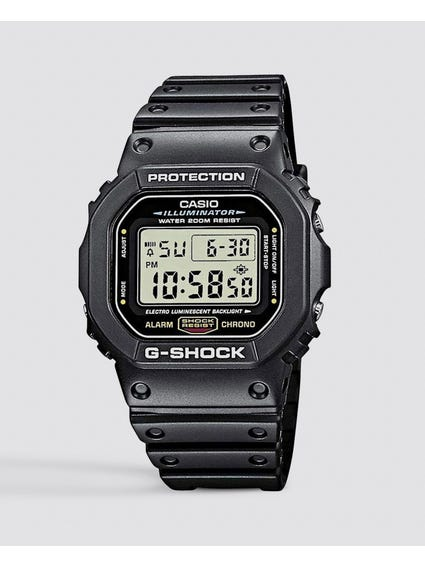 Digital Matt Black Watch