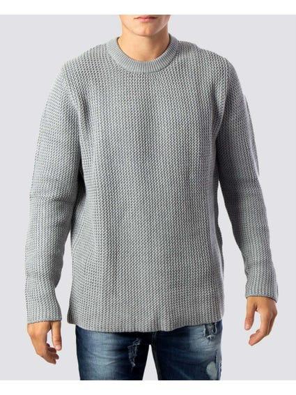 Hansen Crew Neck Knit Sweater