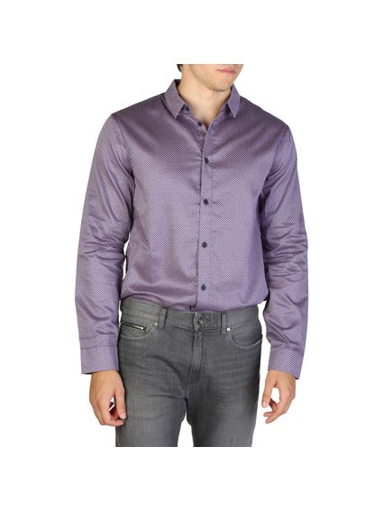 Long Sleeve Collar Button Shirt
