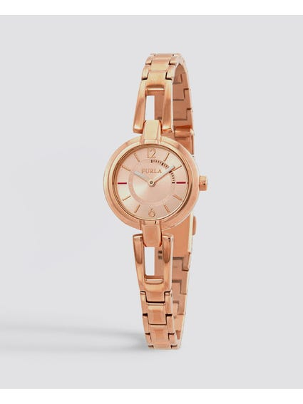Linda Rose Gold Dial Watch