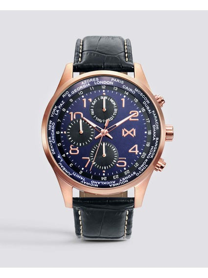 Chronograph Blue Dial Analog Watch