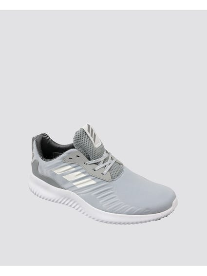 Grey Alphabounce Running Shoes