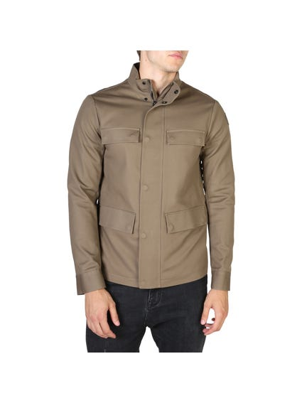 Mandarin Collar Winter Jacket