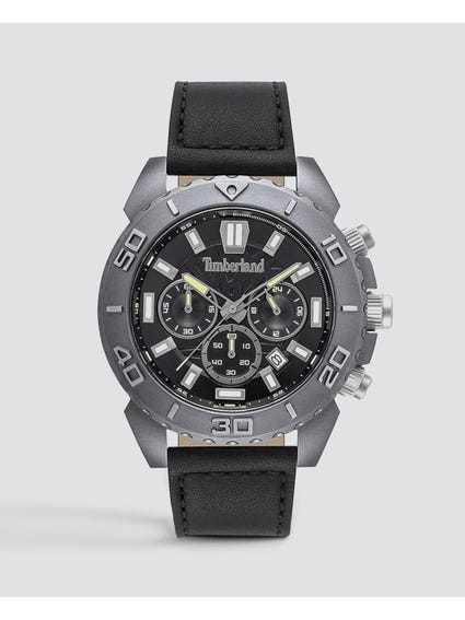 Grey Geometrics Dial Quartz Watch