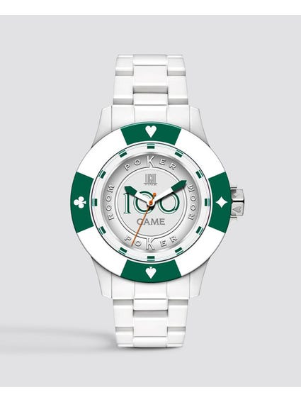 Green Poker Quartz Watch