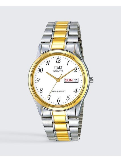Stainless Steel Two Tone Wrist Watch