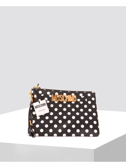 Dotted Clutch Bag