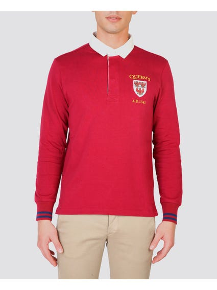 Queens Long Sleeves Polo Shirt