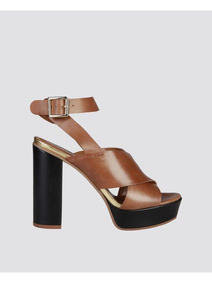 Brown Celie Sandals