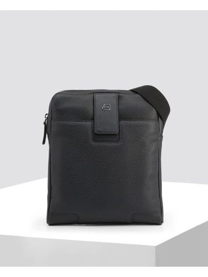 Zipper Closure Crossbody Bag