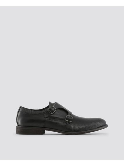Celso Double Buckle Formal Slip Ons