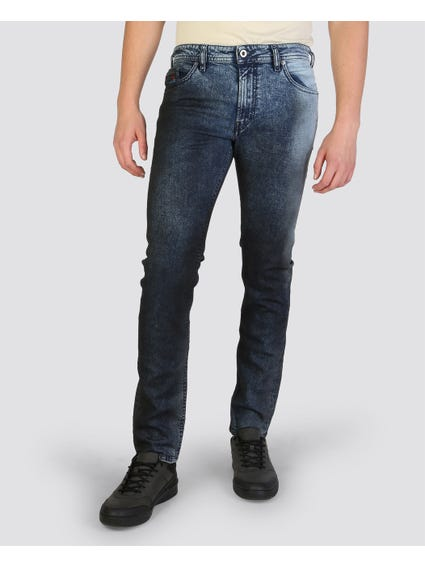 Thommer Pattern Denim Slim Fit Jeans