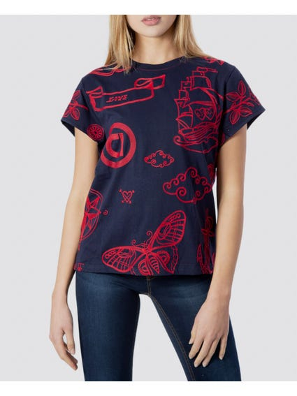 Embroidered Sailor T-Shirt