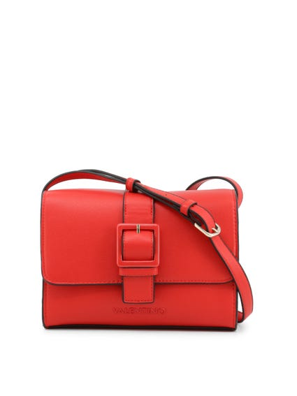 Red Angelo Buckle Fasten Clutch Bag