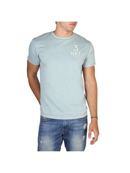 Blue Simple Flare T-Shirt