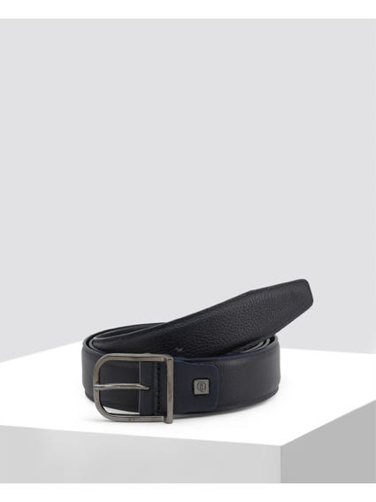 Blue Patterned Belt