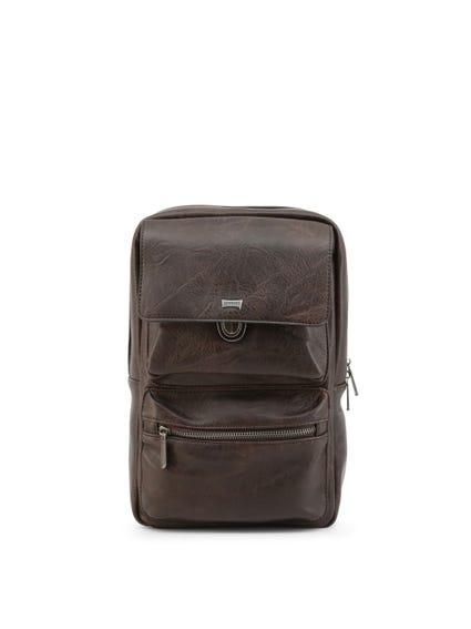 Leather Tuscany Flap Magnetic Crossbody Bag