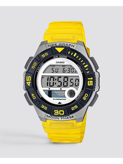 Resin Band Digital Quartz Watch