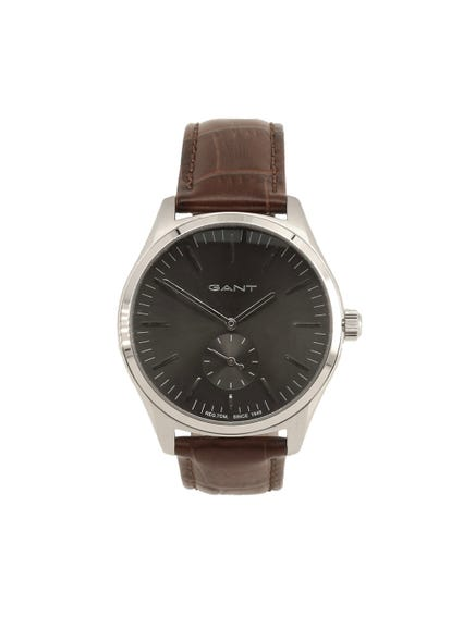 Two Hands Black Dial Watch
