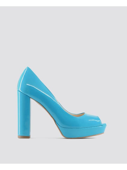 Blue Mia Pumps