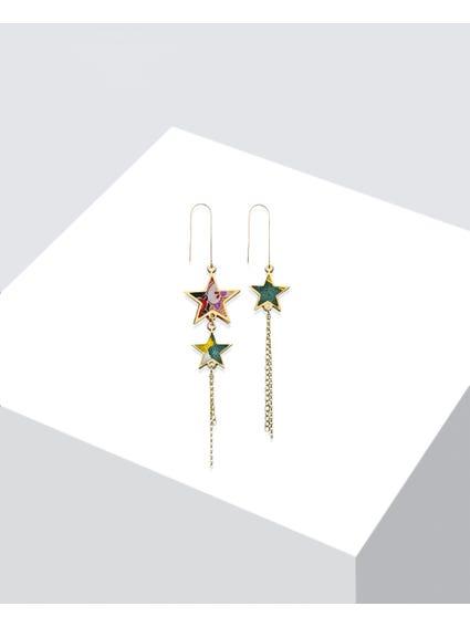 Verde Tanabata Frame Earrings
