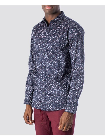Pattern Long Sleeves Shirt