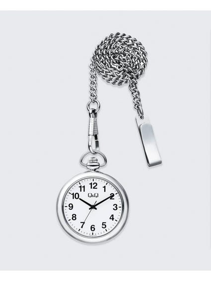 Silver Alloy Pocket Watch