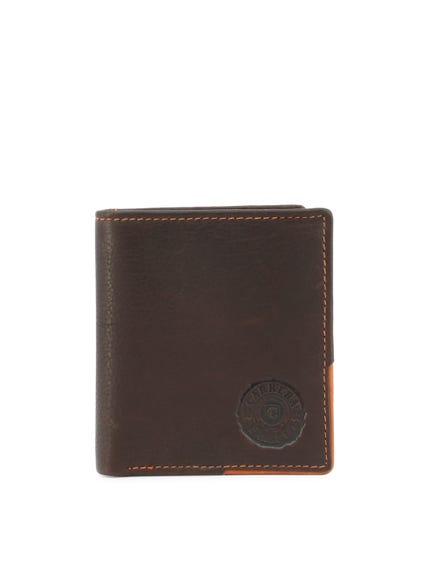 Brown Leather Classic Bi Fold Wallet