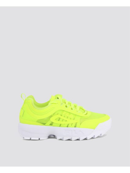 Yellow Disruptor Run Sneakers