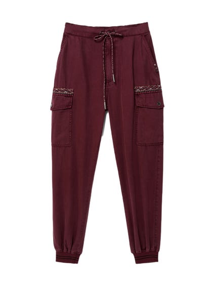 Pocket Drawstring Trousers