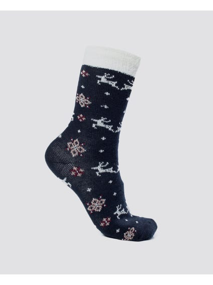 Christmas 2 Pack Cosy Socks