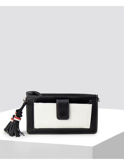 Monochrome Leather Wallet