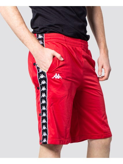 Red Banda Snapwell Shorts