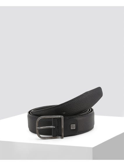 Black Patterned Belt